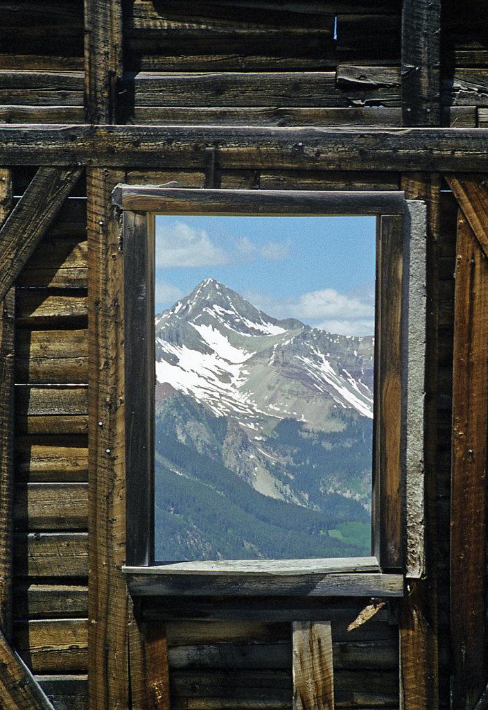 Mt. Wilson Through Window