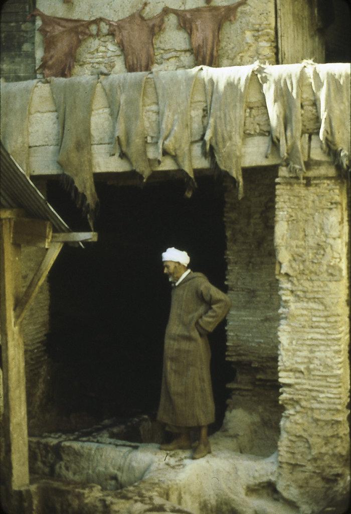 Man at Chouwara, Morocco