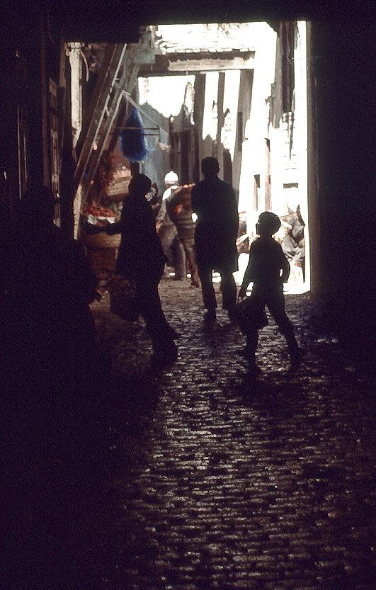 A Backstreet in Meknes, Morocco