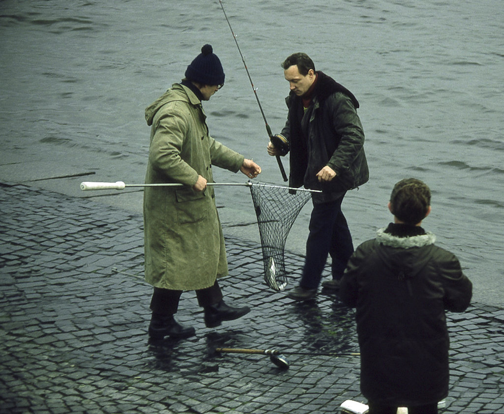 Fishing in St Petersburgrg