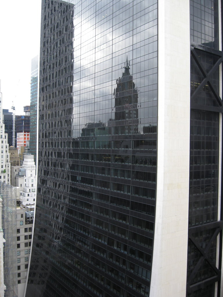 Building Reflection, NYC