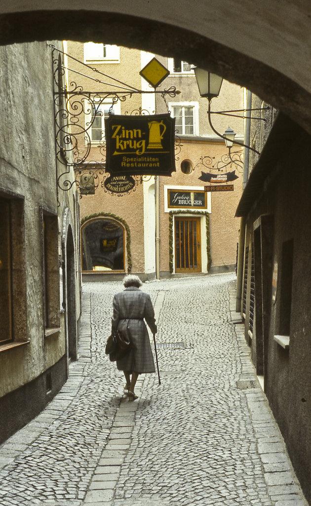 Alone, Salzburg