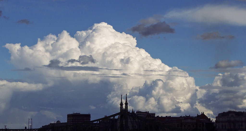 Evening Cloud Over Budapest