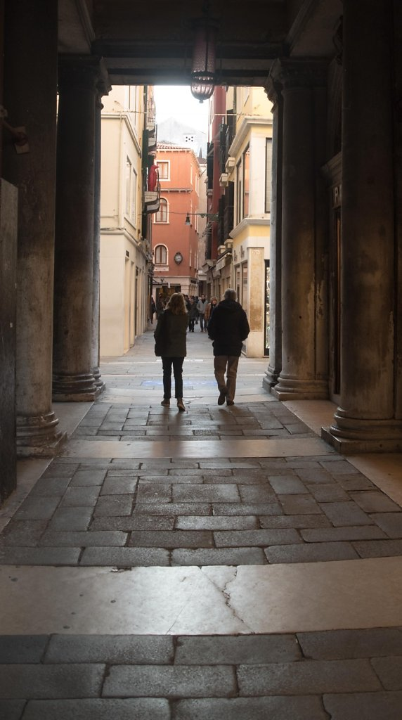 A Main Alley in Venice