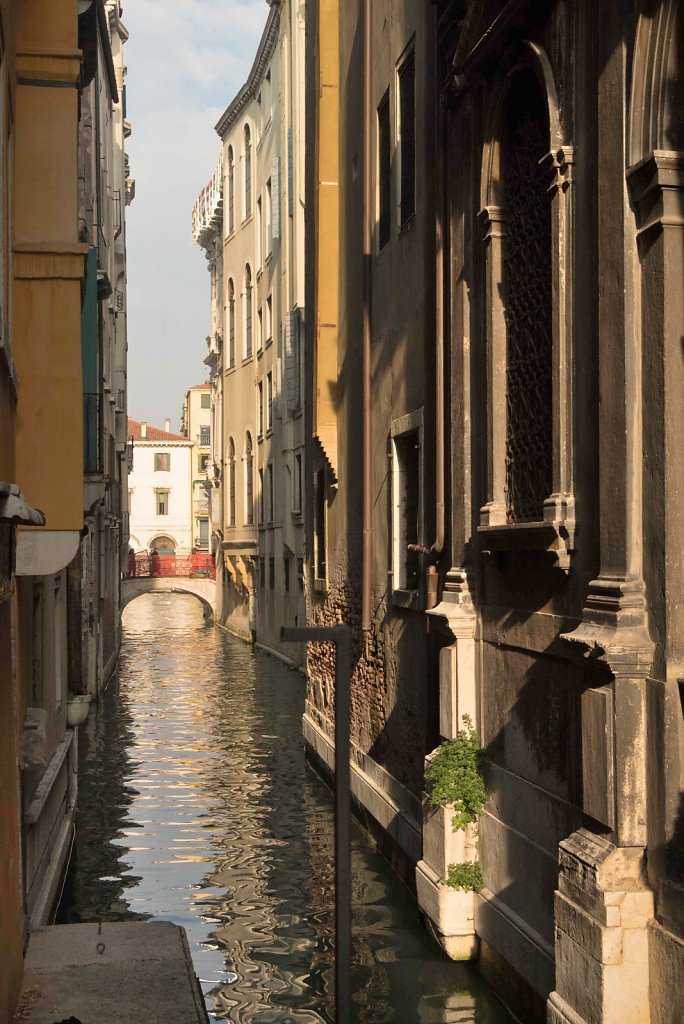 """A canal """"street"""" in Venice"""