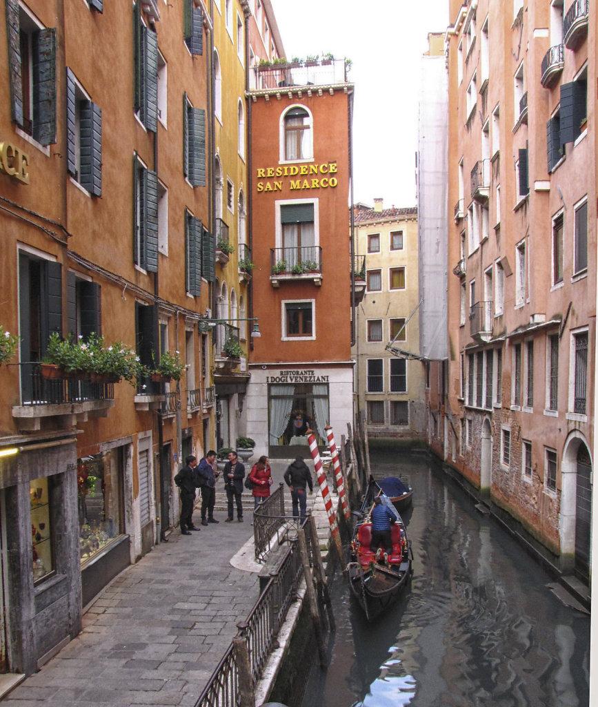 Canal Near San Marcos, Venice