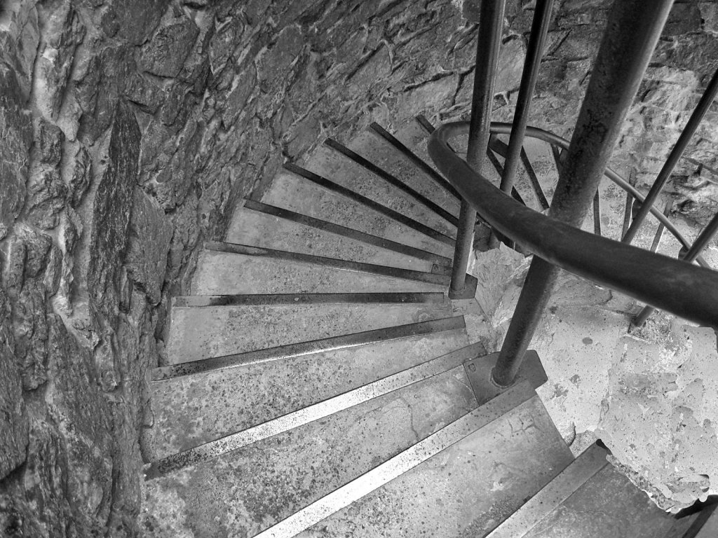 Tower Stairs down