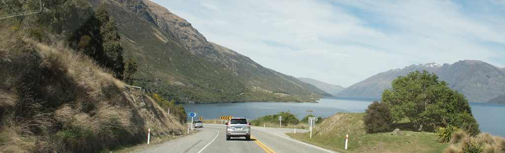 Driving South on South Island