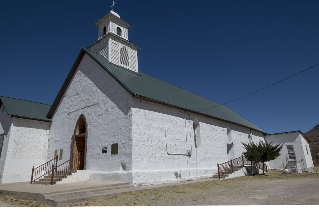 Church in Marfa, Texas