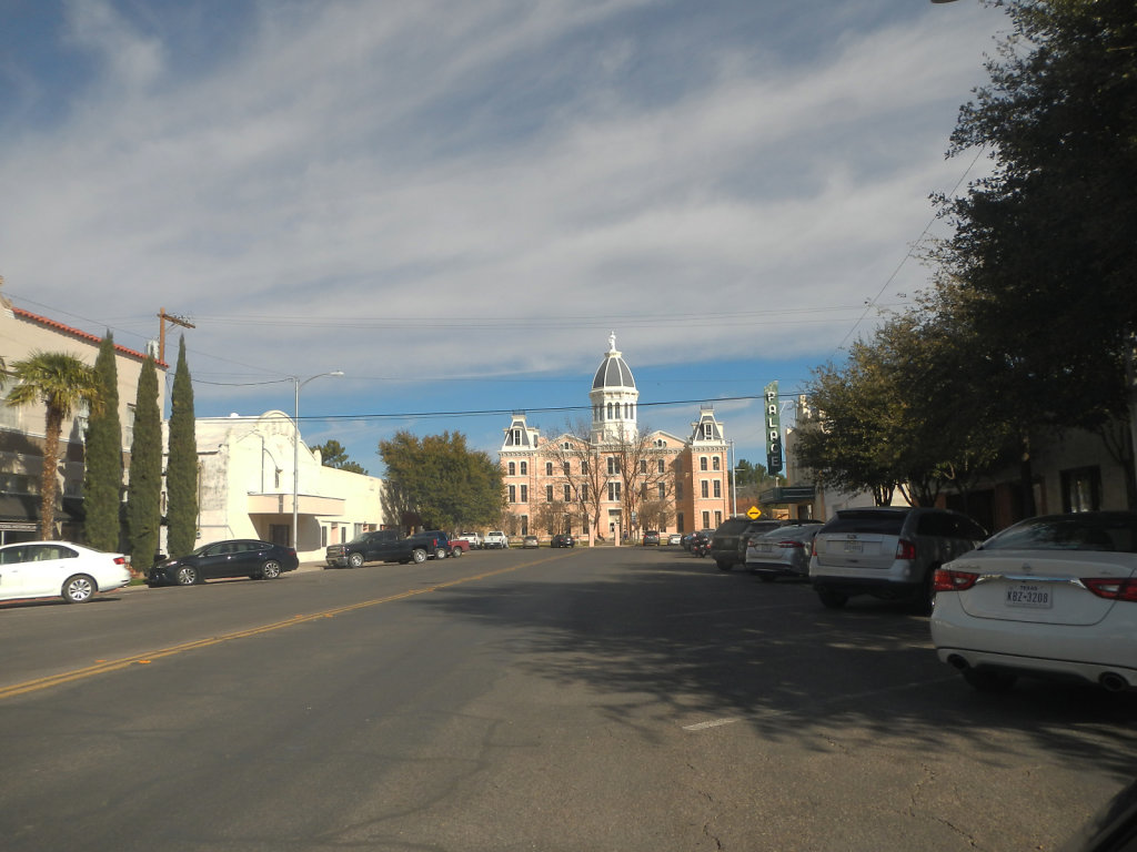 Downtown Marfa, Texas