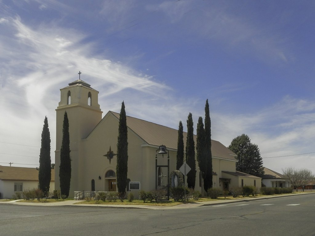 Church in Alpine, Texas