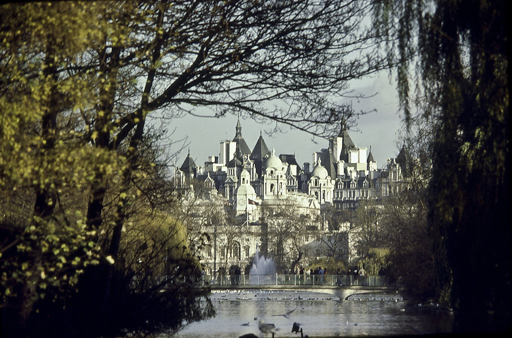 View From St James Park, London