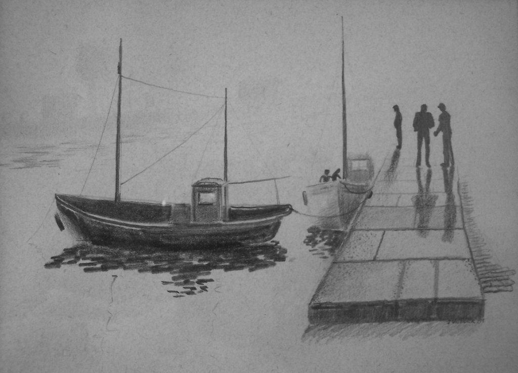 Dock Scene, 1984