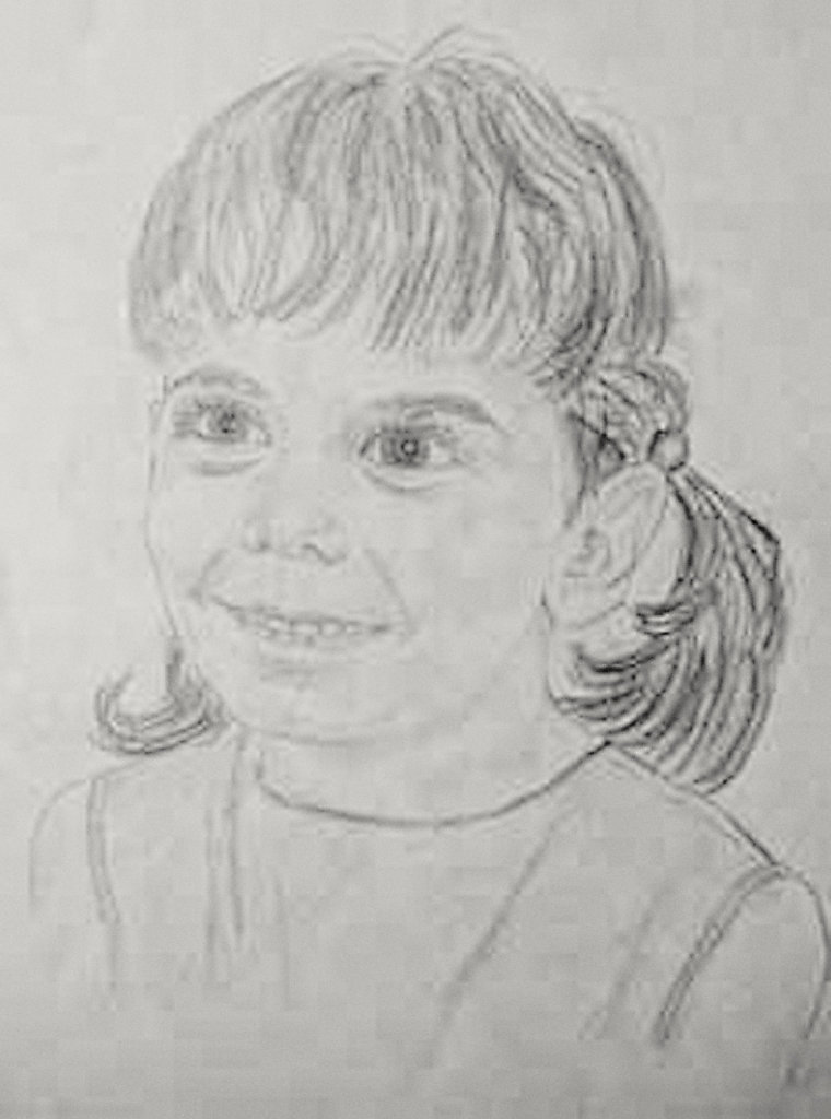 Sketch of My Daughter Laurie