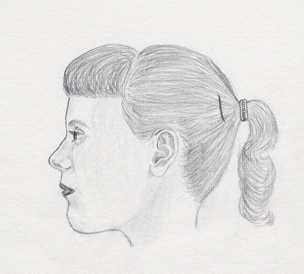 Carol, drawn in 1957