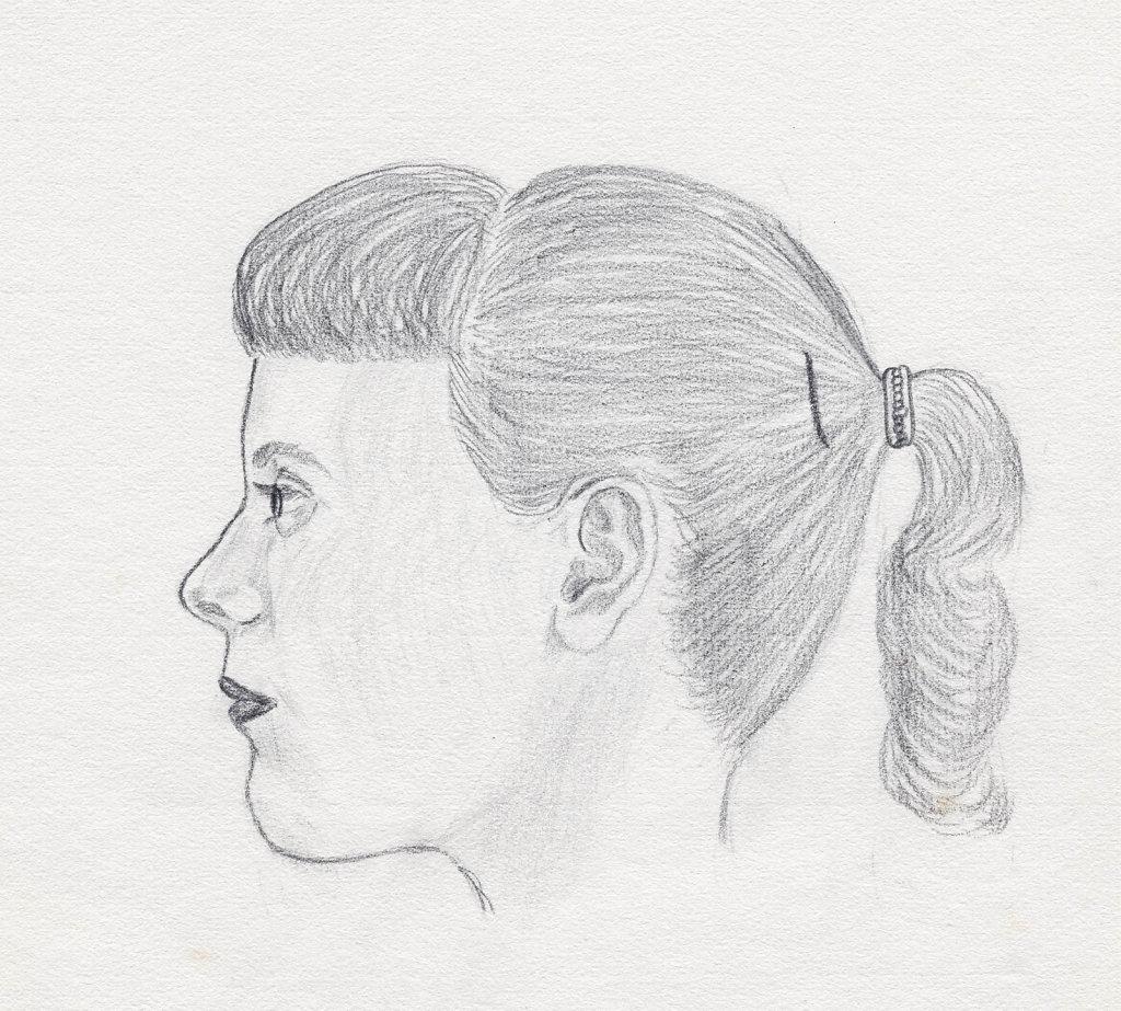 Carol, drawn in 1957