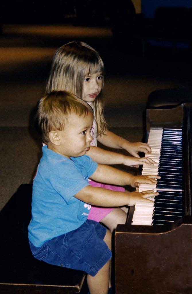 Kids, w do you get to Carnegie Hall?..