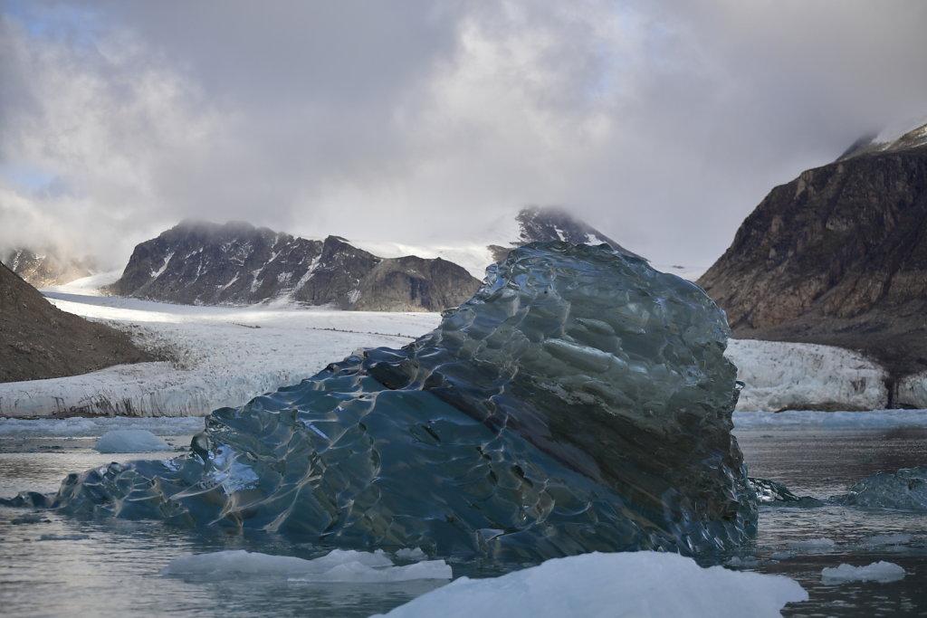 The Newborn Iceberg in Shadow.