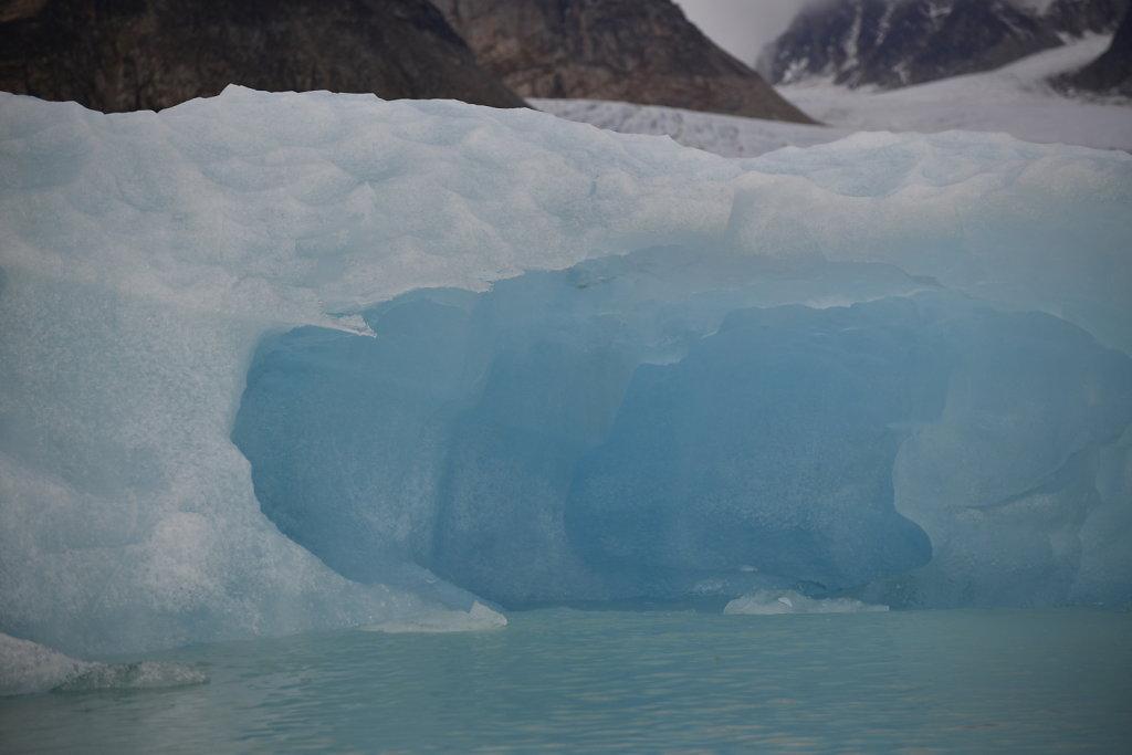 Blue Glacier Ice Cave. Wow!