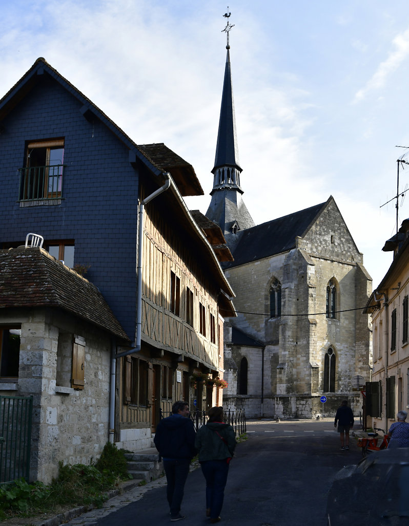 Church in Les Andelys